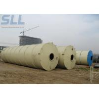 Buy cheap 150t Bulk Cement Tank Semi Trailer / Mobile Cement Silo For Concrete Batching Plant from wholesalers