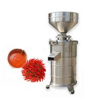 Buy cheap big capacity 300 kg corundum stone fresh chilli paste grinding machine/soy slurry grinder from wholesalers
