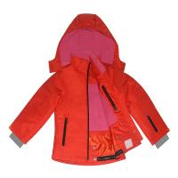 Buy cheap 5 sizes Bright Red Colour Outdoor Windproof Polyester Fabric Winter Coat Ski suit  for Kids Children from wholesalers