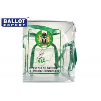 Buy cheap Non - toxic PVC Bag Collapsible Ballot Box Printing Logo OEM from wholesalers