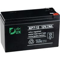 Buy cheap Dux Battery AGM battery 12V 7AH lead acid battery VRLA battery long life battery seal acid maintenance free battery from wholesalers