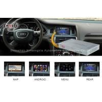 Buy cheap Mirrorlink Audi Video Interface  Audi A8L A6L Q7 800MHZI CPU With Video Recorder from wholesalers