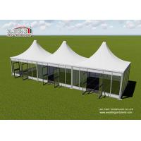 Buy cheap Aluminum Modular Pyramid Roof Top Garden Party Tents , Outdoor Marquee Party Tent from wholesalers