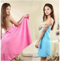 Buy cheap 70cm*140cm(28*55) Microfiber Plush Thicken Soft Quick-Drying Bath Towels Micro-Plush from wholesalers