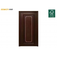 Buy cheap Painting Thick 40mm Flush Engineered Plain Wooden Door from wholesalers