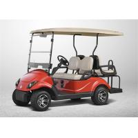 Buy cheap High End Electrical Golf Carts With 4 Seater , Club Car Golf Carts with LED Lights from wholesalers