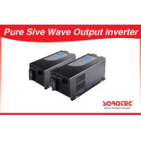 Buy cheap Sine wave Output Solar Power Inverters visual alarm with Circuit breaker from wholesalers