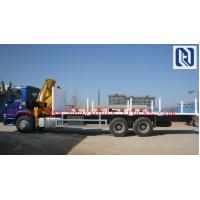 Buy cheap 3 X 13t Fuwa Semi Trailer Trucks Log Transport Semi Trailer / Wood Transport from wholesalers