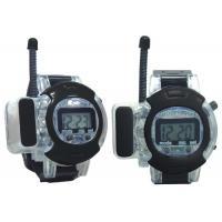 Buy cheap 12 Clock Spy Walkie Talkie Watch Wrist Watch With Earphones Hidden Microphone For Kids product