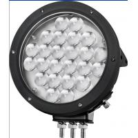 Buy cheap 9 inch LED work light with 24pcs*5w high intensity CREE LEDs high lumens for Off Road vehicle from wholesalers