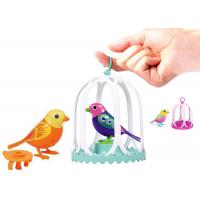 Buy cheap OEM ODM Chrismas Gift Children Singing Birds Toys / Talking bird toy with cage from wholesalers