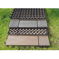 Buy cheap Wood  Plastic Composite Easy install Decorating DIY Decking Board from wholesalers