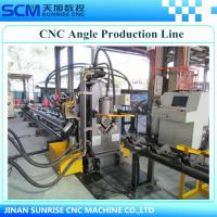 Buy cheap TAPM1010 CNC angle punching, marking and shearing line; manufacturer cnc angle production line; cnc machine for tower from Wholesalers