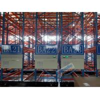 Buy cheap Cold Chains Q235B Steel Storage Racks Spacing Saving Pallet Racking Shelves product