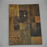 Buy cheap Decorative 3d Solid Wood Wall Paneling , Artificial Carved Wood Wall Panel from wholesalers