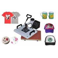 Buy cheap 8 In 1 T-Shirt / Mug / Plate Sublimation Printing Machine for DIY Printing Heat Press Transfer Machine from wholesalers