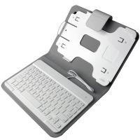 Buy cheap 8-pin Wired iPad Keyboard Leather Case product