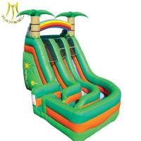 Buy cheap Hansel  inflatable kids playground  bouncy castle inflatable water slide small  inflatable plams tree slide from wholesalers