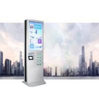 Buy cheap White CRS Material Cell Phone Charging Stations With 43 Inch Digital Signage from wholesalers