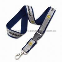 Buy cheap Glittering Lanyard, Various Hooks are Available from wholesalers