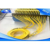 Buy cheap FTTH SC LC FC ST  UPC APC  Fiber Optic Patch Cord Cable Outdoor / Indoor from wholesalers