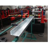Buy cheap C / Z Shape Automatic Changable Purlin Roll Forming Machine Hydraulic Punching Hole for European Customer from wholesalers