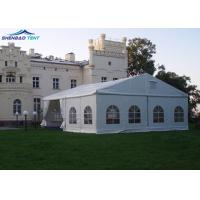 Buy cheap White PVC Aluminium Frame Event Marquee Tent Easy To Assembled And Dismantled from wholesalers