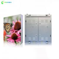 Buy cheap P4 P5 LED Display Cabinet , Full Color Led Display Board Steel Aluminium Outdoor Indoor from wholesalers