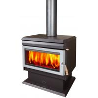 Buy cheap Durable Indoor Wood Stove Freestanding With Room Fan 10 Years Warranty from wholesalers