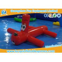 Buy cheap 0.9mm PVC Inflatable Water Park Games Red Inflatable Dragonfly Water Toys For Children from wholesalers
