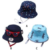 Buy cheap ACE new brand custom private brand cotton with digital printed baby bucket hat cap upf 50+ from wholesalers