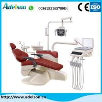 Buy cheap Foshan luxury floor type dental chair with dental LED lamp from wholesalers