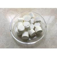 Buy cheap Cas 1314-98-3 Inorganic Salts / Zinc Sulfide Tablets 99.99% D20mm For Cold Light Film product