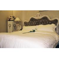 Buy cheap Jacquard Fabric Luxury Hotel Bed Linen Pillow Case Bed Sheet Duvet from wholesalers