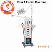 Buy cheap Multifunction 19 in 1 face beauty machine water dermabrasion / diamond microdermabrasion machine face cleaning machine from wholesalers