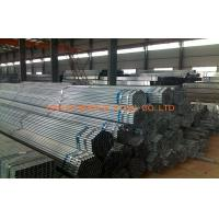 Buy cheap Zinc Coating ERW Pre Galvanized Steel Pipe SCH30 SCH40 BS 1387 from wholesalers