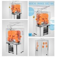 220V Commercial Orange Juicer Machine Stainless Steel Fruit Squeeze Juicer