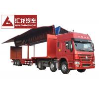Buy cheap Drop Deck Wingspan Curtain Semi Trailer High Loading And Unloading Efficiency from wholesalers