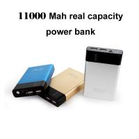 Buy cheap Lomui new design power bank 11000mah real capacity with high quality Mobile phone charger from wholesalers