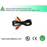 Buy cheap High quality 2 male RCA to 1 female cable y splitter phono cable for japan av video product
