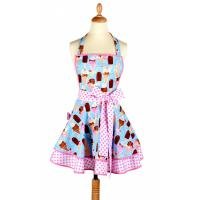 Buy cheap recycle apron with cotton fabric from wholesalers