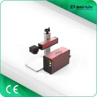 Buy cheap Mini Type Industrial Laser Marking Machine With Electric Shift Working Table from wholesalers
