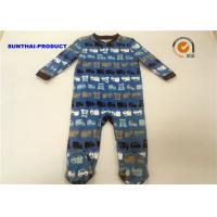 Buy cheap Professional Tiny Baby Pram Suit 100% Cotton Car Print OEM / ODM Available from wholesalers