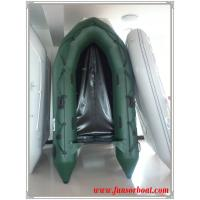 Buy cheap Chinese inflatable boat for 4 person 0.9mm PVC Plywood floor from wholesalers