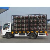 Buy cheap Type 2 CNG Gas Cylinder Mobile CNG Cascade For Natural Gas Transportation Trailer product