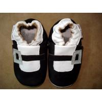 Buy cheap soft leather infant shoe,rubber baby shoes,happy toddler boots leather baby soft sole shoe from wholesalers