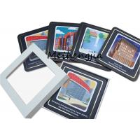 Buy cheap Wearproof MDF Coaster Blanks Mdf Sublimation Board Easy To Clean Surface product