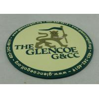 Buy cheap Promotional 2D PVC Coaster , Custom Plastic Luggage Tag For Business product