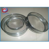 Buy cheap 304 / 316 / 316L Stainless Steel Laboratory Test Sieves For Filter 6.5cm High from wholesalers