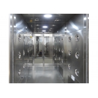 Buy cheap Automatic Induction 30m/Sec Cleanroom Air Shower Stainless Steel product